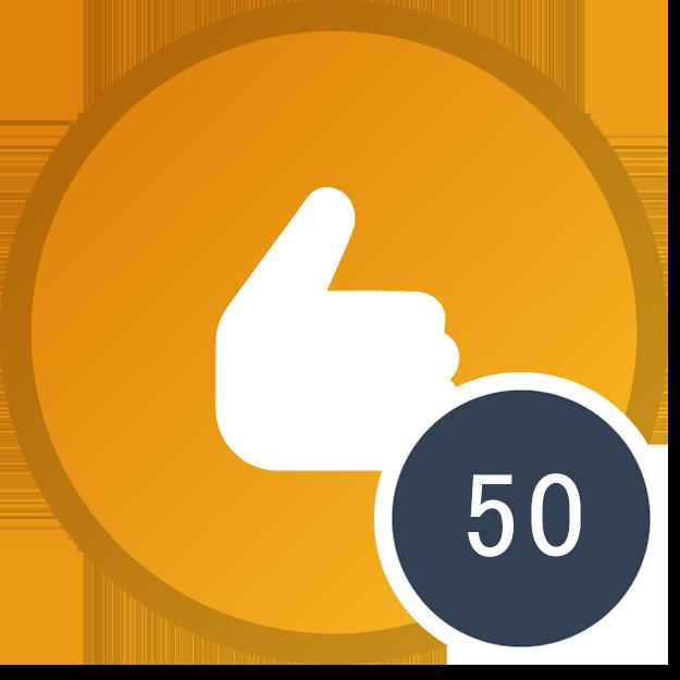 50 reputacji